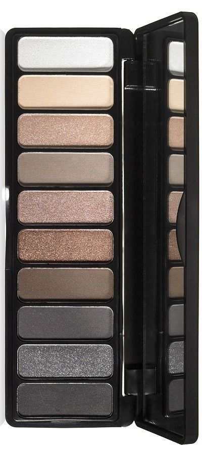 e.l.f. Studio Eyeshadow Palette in Smoky (June 2015)