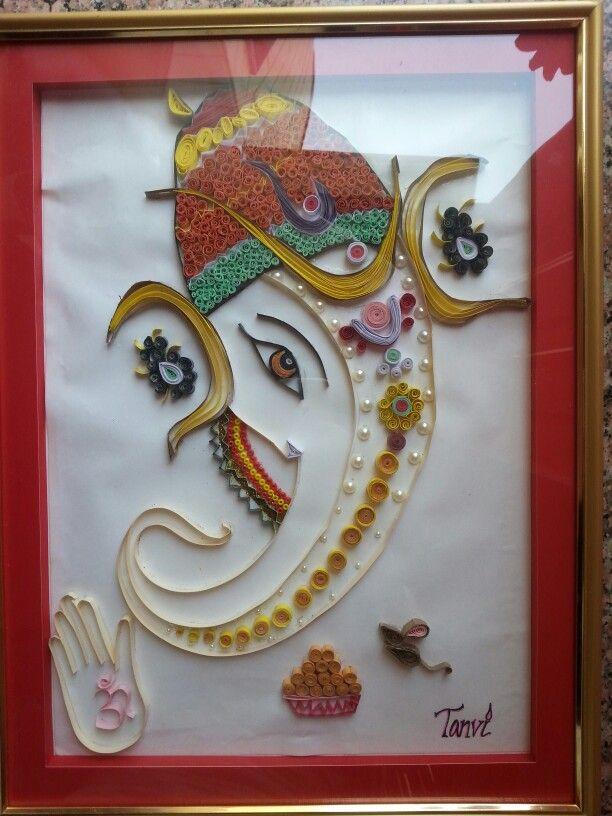 Quilled Ganesh