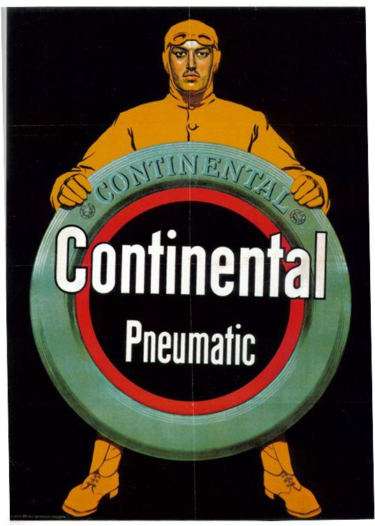 1920 Continental Advertisement. Les pneus Continental, c'est ici: http://www.allopneus.com/Gamme-continental-1,7,8-35.html.