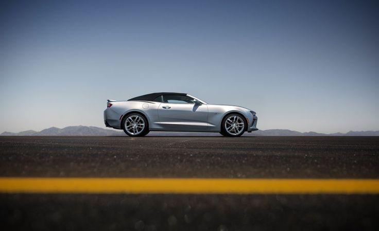 2016 Chevrolet Camaro SS Convertible revealed