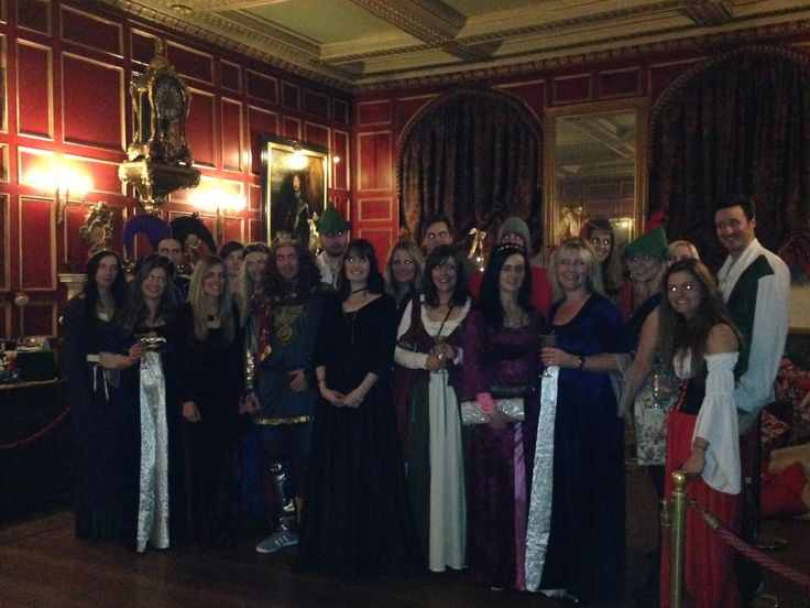 The Sytner Group Marketing team traveled back in time yesterday for their Christmas party at Warwick Castle!