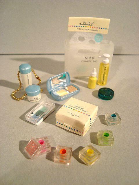 Re-ment Cosmetics by em`lia, via Flickr