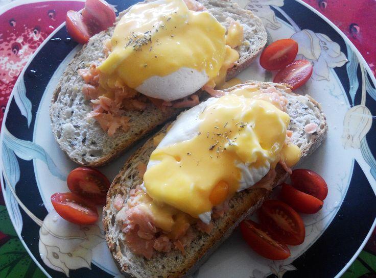 Home Style #EggsBenedict