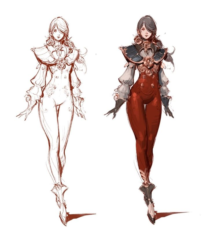 Fantasy Character Design Sheet : Best c art female characters images on pinterest