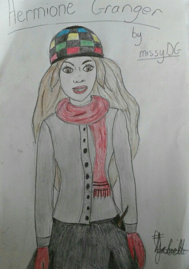 Okay. So I know this doesnt look like Emma Watson, but this is what I thought Hermione looks like whilst reading Harry Potter. =) xx