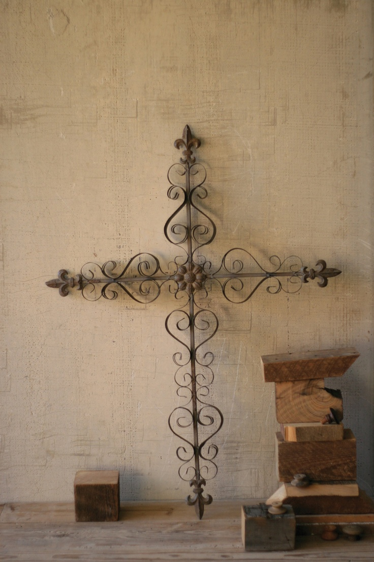 Painted crosses wall decor : Best images about decorative crosses on