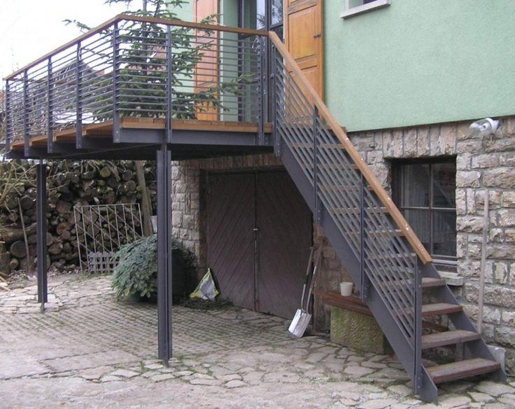72 best Haus images on Pinterest Balconies, Decks and Decking - cortenstahl innenbereich ideen