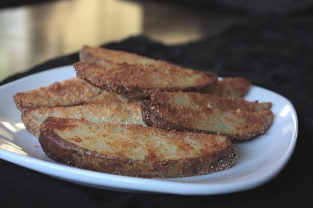 Parmesan Potato Wedges | good mood food | Pinterest
