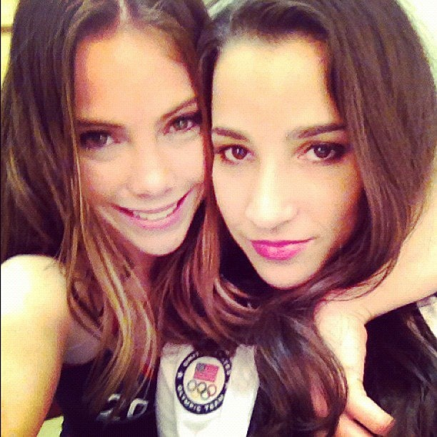 mckayla maroney and aly raisman - gymnastics Photo