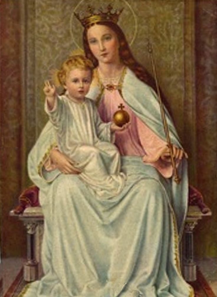 Blessed Mother Mary And Jesus Our Lady of Gra...