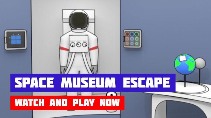 Space Museum Escape in 2020 Escape game, Space museum