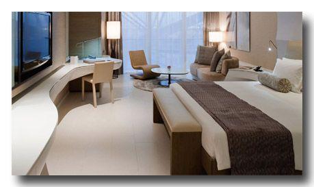 The Yas Hotel 5 ***** / Abu Dhabi / Emirats AraLes chambres élégantes du Yas Viceroy Hotel disposent d'une télévision à écran LCD, d'une station d'accueil pour iPod et de baies vitrées. bes Unis