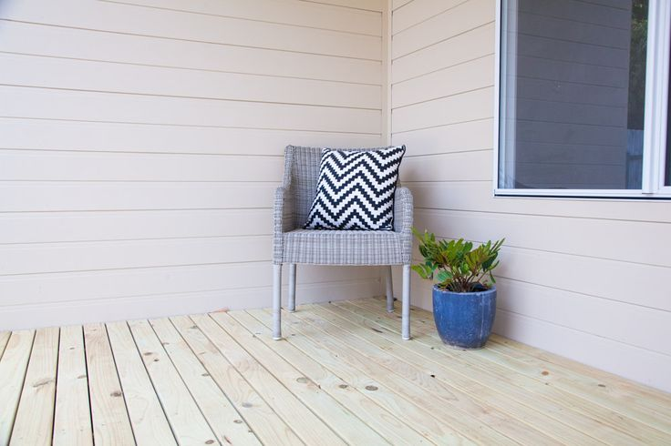 Home Sweet Home - Shepperd Building Company. This pine timber deck is a fantastic low maintenance affordable option for those wanting the function and look of a deck, without it adding a huge cost.
