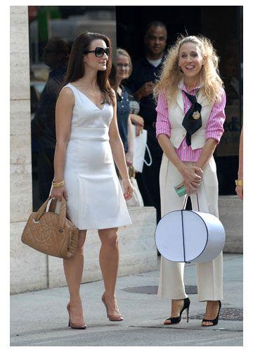 Charlotte York y Carrie Bradshaw