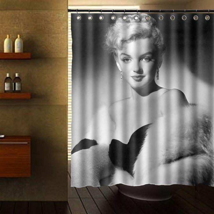 MARILYN MONROE PORTRAITS SHOWER CURTAIN #Unbranded