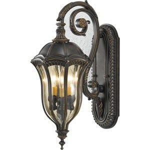 feiss lighting walnut outdoor wallmounted lantern includes free shipping