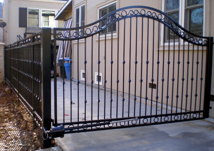 Automatic Driveway gate installation Electric
