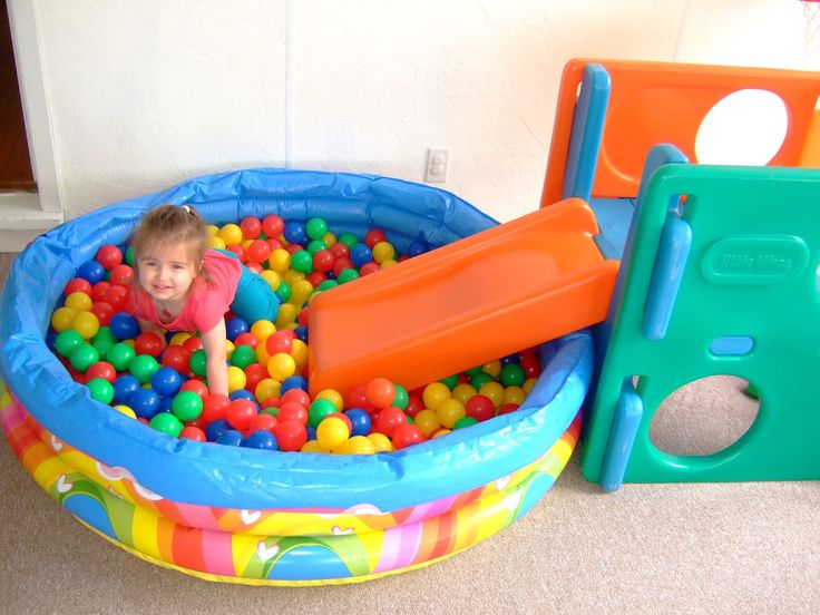 Slide Ball Pit Bodhis First Birthday Pinterest Ball Pits