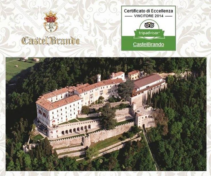 Siamo felici di annunciare che, anche quest'anno, ci è stato assegnato il Certificato di Eccellenza del portale TripAdvisor Grazie a tutti gli ospiti che hanno recensito CastelBrando!