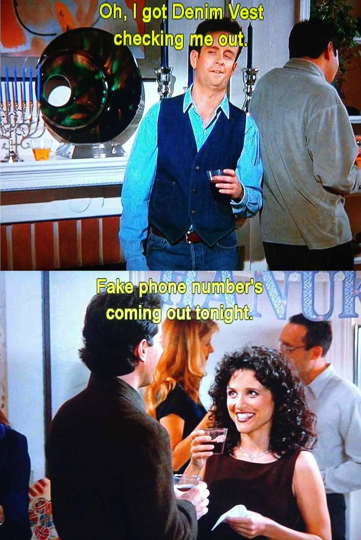 Seinfeld quote - Elaine uses a fake number, 'The Strike'