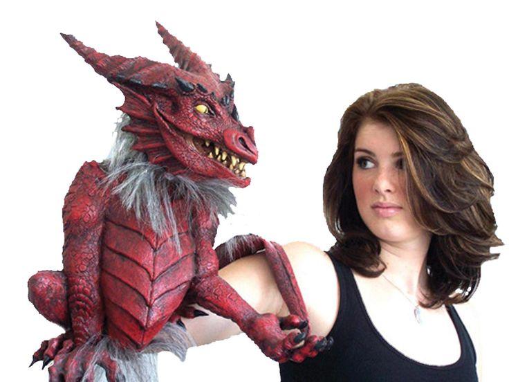 dragon puppet - Puppet Halloween