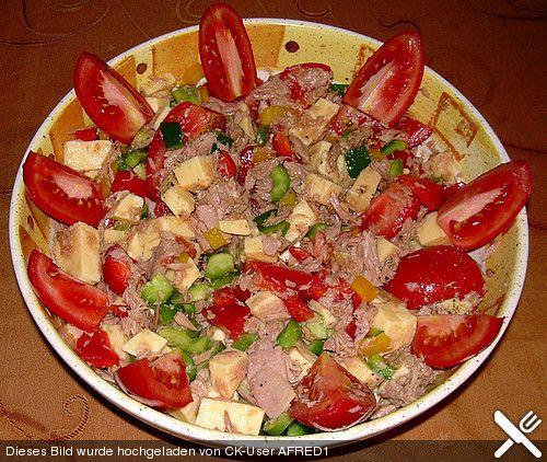 Thunfischsalat mit Tomaten (Rezept mit Bild) von AFRED1 | Chefkoch.de