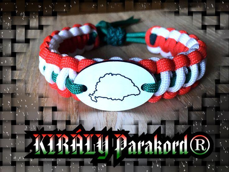 NAGY-MAGYARORSZÁG Parakord Karkötő/ GREAT HUNGARY Paracord bracelet
