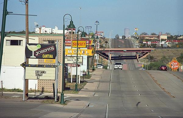 """Route 66 - Santa Rosa, New Mexico. """"The Fine Art Photography of Frank Romeo."""""""