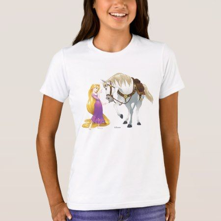 Rapunzel | Besties 4Ever T-Shirt - click/tap to personalize and buy