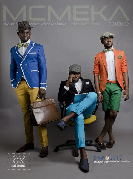 Emerging Nigerian Menswear Label McMeka Couture presents its 2012 Campaign | FashionGHANA.com (100% African Fashion)