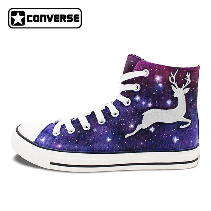 Original Design Cerfs <font><b>Elk</b></font> Galaxy Étoiles de Sport Sneakers Femme Converse Homme Peint À La Main Chaussures Marque All Star #Original, #Design, #Cerfs, #-font-b-Elk-b--font-, #Galaxy, #Étoiles, #Sport, #Sneakers, #Femme, #Converse, #Homme, #Peint, #Main, #Chaussures, #Marque, #Star