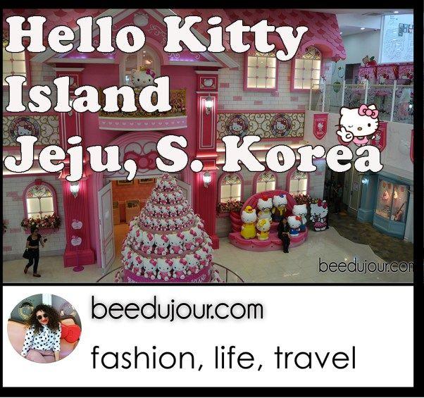 Hello Kitty Island on Jeju · Bee Du Jour