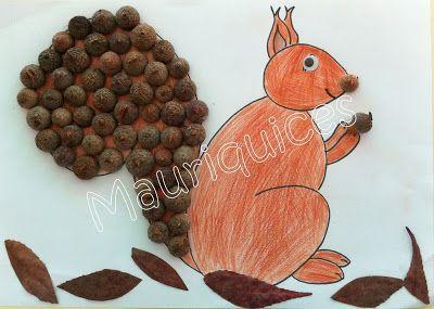 Mauriquices: Fomos à floresta e vimos um esquilo!