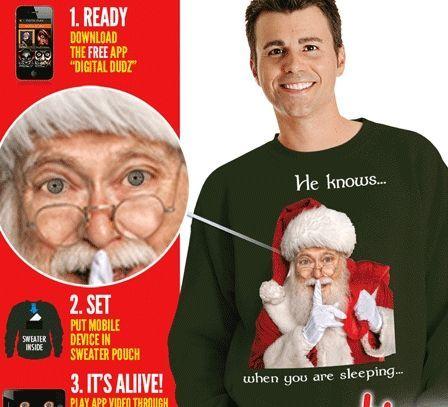 Рождественская интерактивная толстовка Санта — http://fas.st/XNdO4s