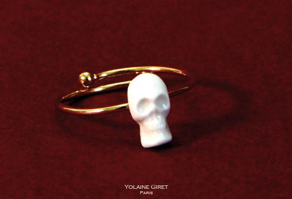 Yolaine Giret — Bague Tête de Mort / Ring Skull