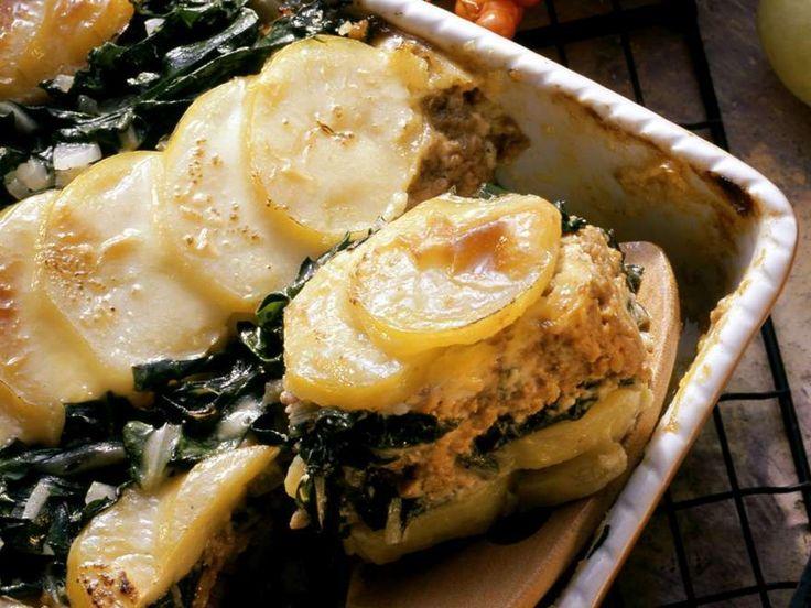 Kartoffel-Mangold-Auflauf