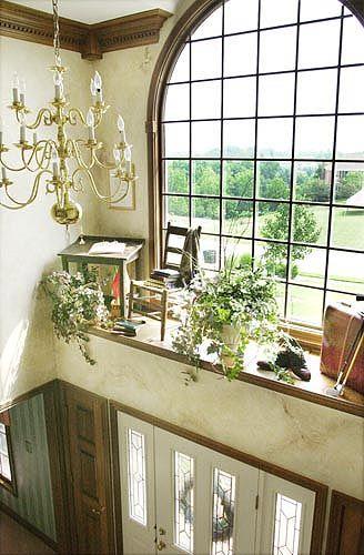 plant ledge ideas...