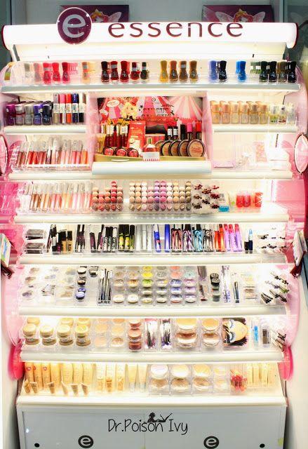 I also love the Essence cosmetics brand.