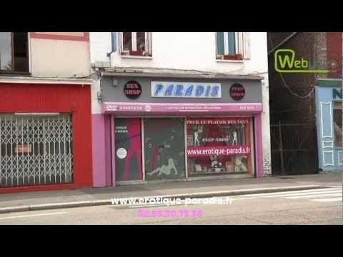 Paradis sex shop à Rouen