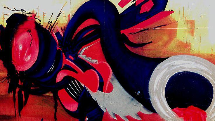 Graffiti, Žilina. #graffiti #streetart #photo