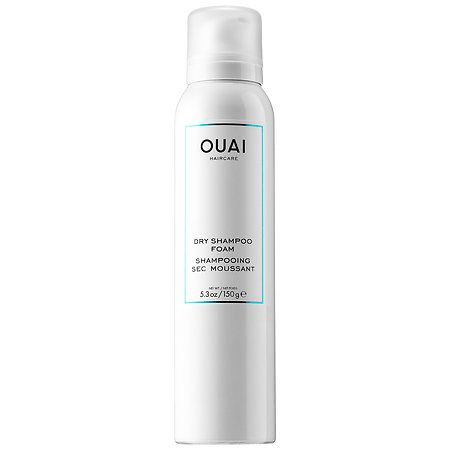 Dry Shampoo Foam - Ouai   Sephora $28 Not to just get through the day but gives another whole day or 2.