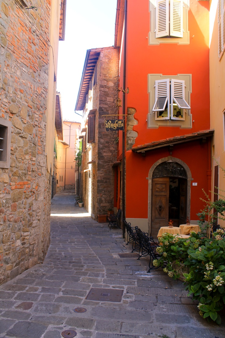 The Most Beautiful, Medieval, Cobble Stoned Village In Tuscany    #Montecatini #Italy