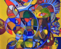 Kind of Kandinski - nice colors
