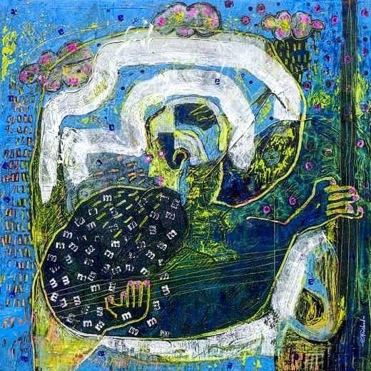 Ollivier FOUCHARD Créations #ollivierfouchard #painter #engraving #music #exhibition #france #brittany #designergraphique #marcusmiller #paulmccartney #bassplayer #art #lorient #creation #bretagne #pontaven