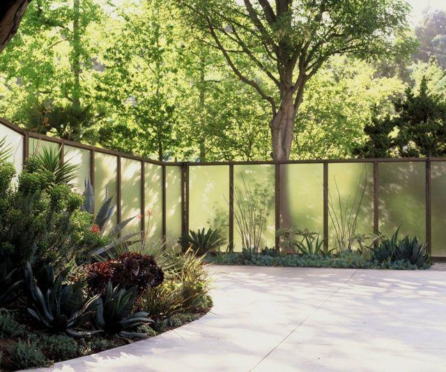 17 best ideas about sichtschutz glas on pinterest | sichtschutz, Garten und Bauen