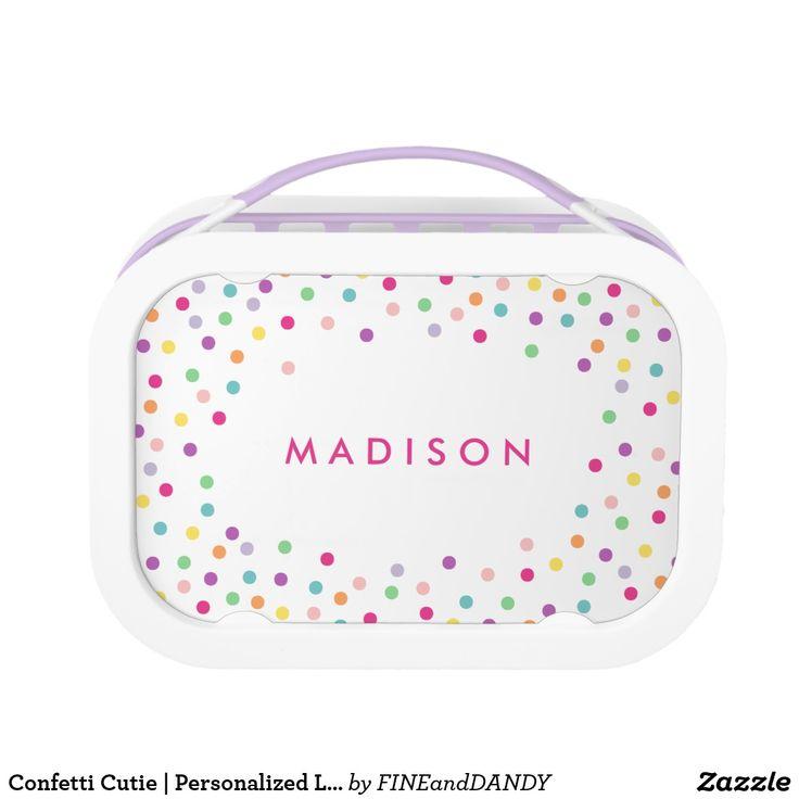 Confetti Cutie | Personalized Lunch Box