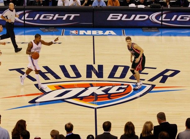 See a OKC Thunder game in downtown OKC