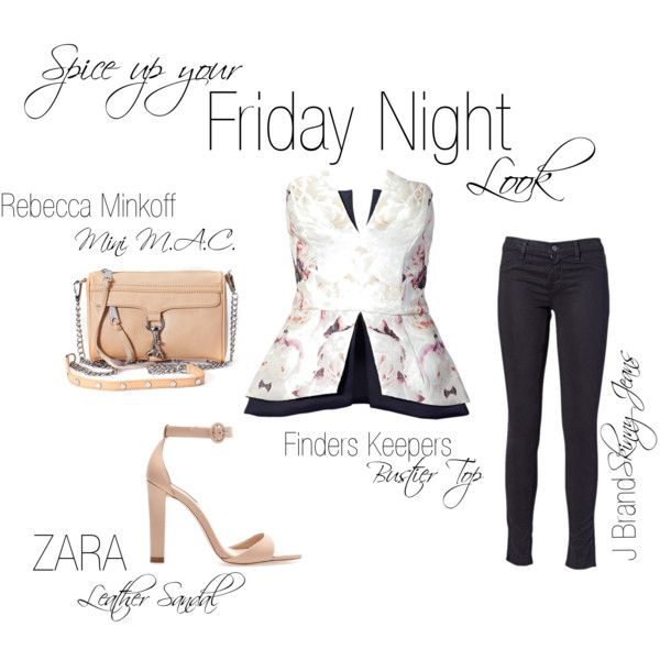 """""""Friday Night Look"""" by shopeluxe on Polyvore"""