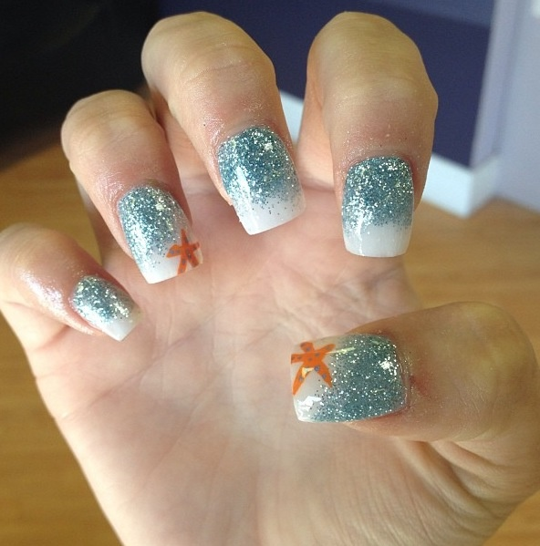 Acrylic Beach Nails Nail Obsession In 2018 Pinterest Art And