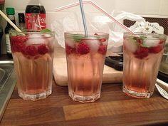 Bacardi Razz Cocktail with Sprite   – Bowle /Likör